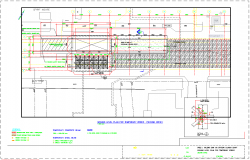 Commercial structure detail view dwg file