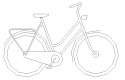 Common cycle block design dwg file