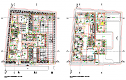 Community clinic plan layout file
