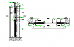Complete sectional details dwg file