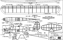 Complete sectional details of airplane dwg file
