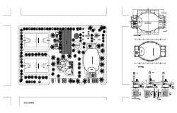 Indoor sports complex design plan