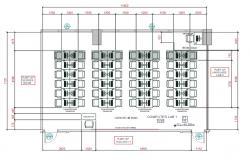 Computer Lab Layout Plan DWG File