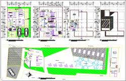Condominium horizontal plan  dwg.