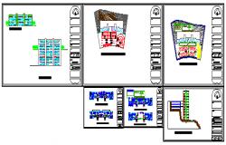 Condominium vertical architectural plans design drawing