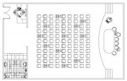 Conference Room Design Layout Plan.