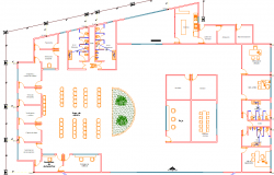 Conference room detailing dwg file