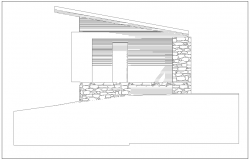 Construction Design with elevation view