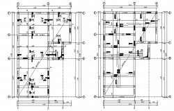 Construction Details of House Plan dwg file