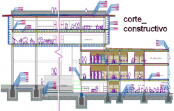 Construction detail architecture faculty construction detail dwg file
