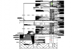 Construction details assorted sections drop ceiling plan detail dwg file