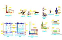 Construction details of a building