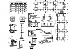 Construction details reinforced concrete detail dwg file