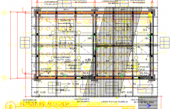Construction elementary school layout plan dwg file