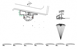 Construction plan detail dwg file