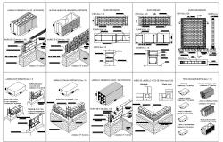 Construction plan dwg file