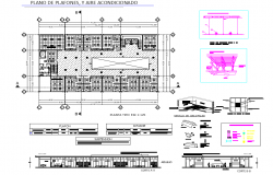 Construction plans detail dwg file