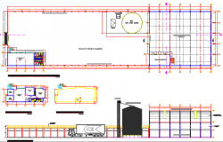 Corn processing meal architecture project dwg file
