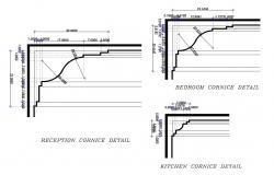 Cornice AutoCAD Blocks