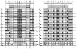 Corporate Building Elevation Design DWG File