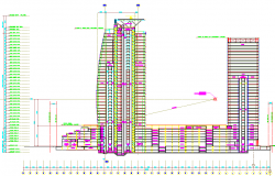 Corporate Building Elevation Design