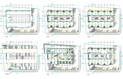Corporate Building Layout plan