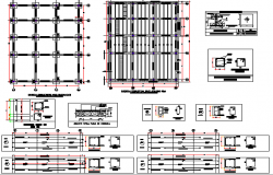 Corporate Building Wall Construction Details dwg file