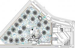 Corporate Building With Electrical Layout Plan