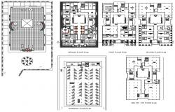 Corporate Office Building Floor Plans