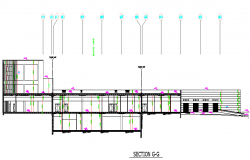 Corporate Office Building Plan dwg file