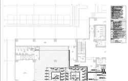 Corporate building IP system layout