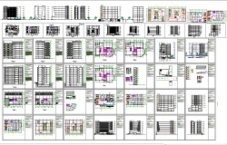 Corporate building architecture projects detail cad files