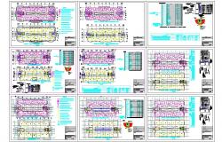 Corporate office building architecture detail cad files