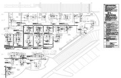 Corporate office building layout detail