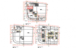 Country hotel plan layout file