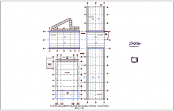 Cover plan consulting and audit area water line view for integral center dwg file