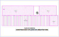 Cover plan of social building dwg file