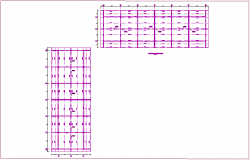 Coverage plan of school dwg file