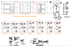 Cub board section dwg file