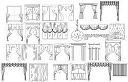 Curtain CAD Blocks