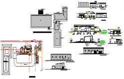 Dairy plant design drawing