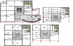 Data networking office building floor plan architecture details dwg file