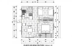 Design holiday cabin plan detail dwg file
