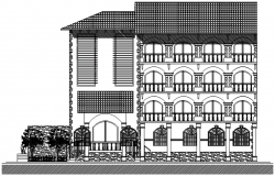 Design of apartment in AutoCAD