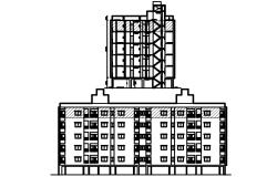 Apartment Design Plan In DWG File