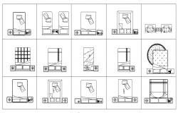 Design of bed drawing in dwg file
