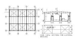 Design of bracing in steel structures