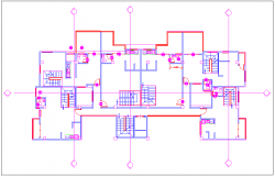 Design of bungalows for fifth floor