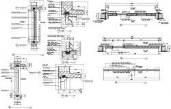Door design  in AutoCAD file
