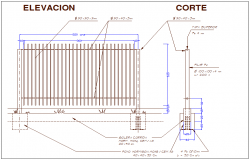 Design of fence view for gate way